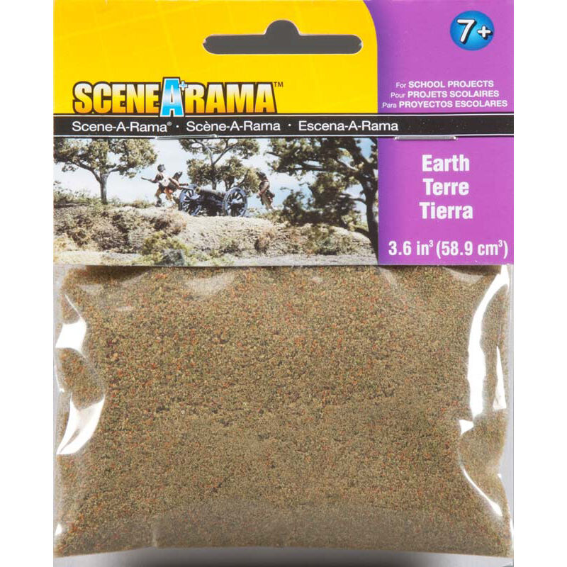 Scene-A-Rama Scenery Bags, Earth 2oz