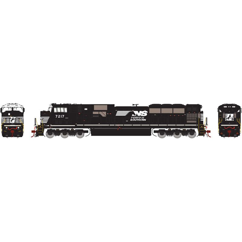 HO SD80MAC with DCC & Sound NS #7217
