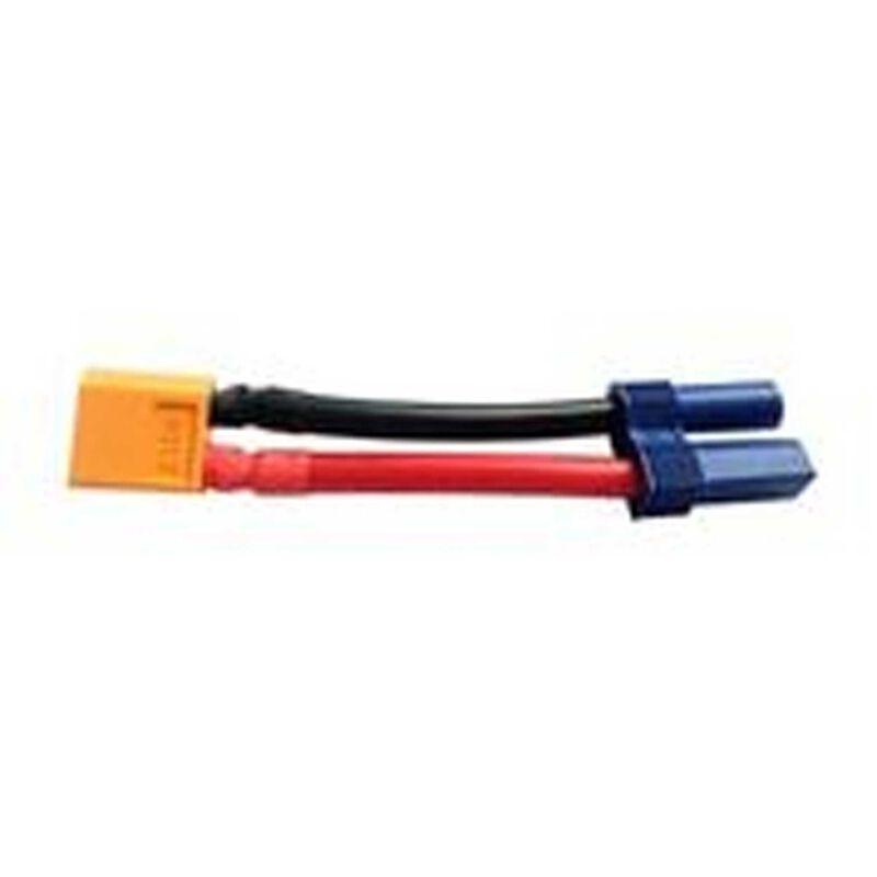 Adapter: XT60 Device / EC5 Battery, 10 AWG
