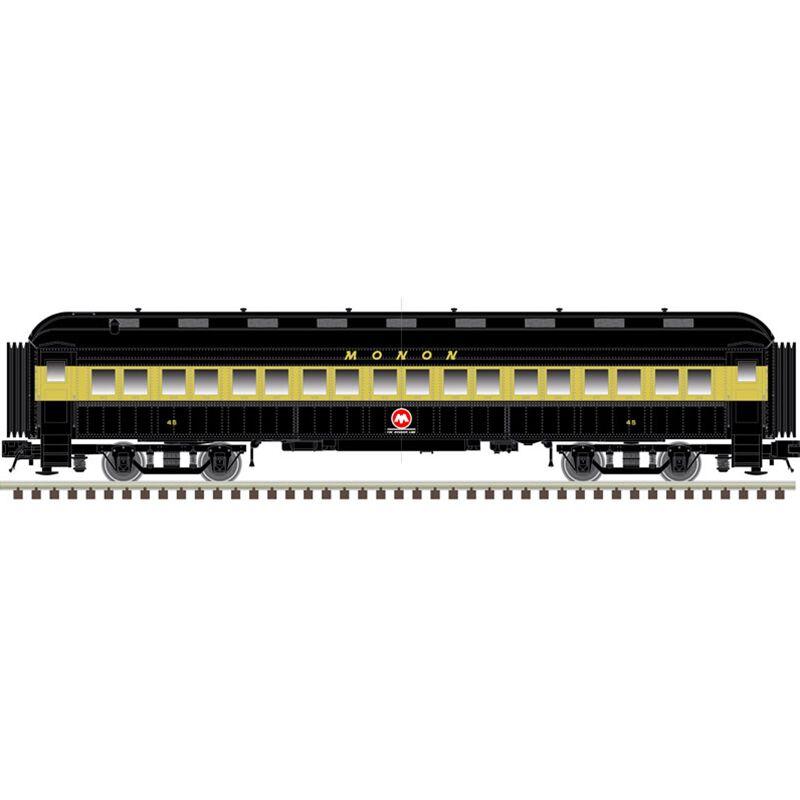 N Trainman 60' Coach MONON #45