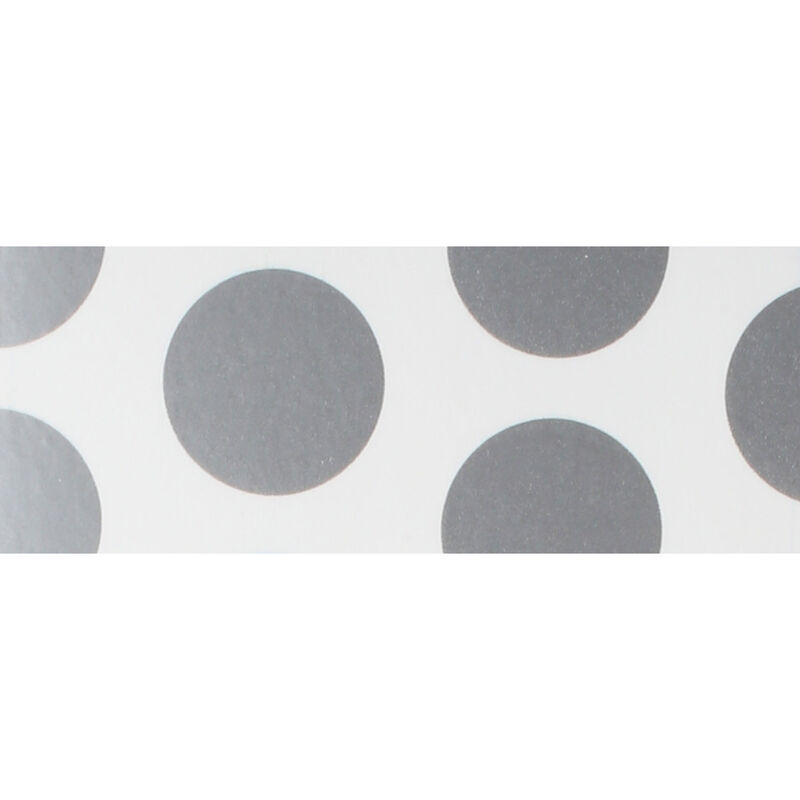 UltraCote, White with Silver Dots
