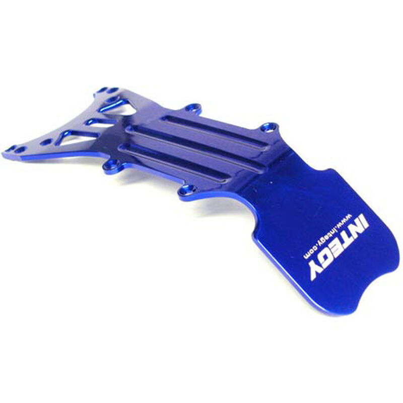Type II Front Skid Plate, Blue: TMX, EMX