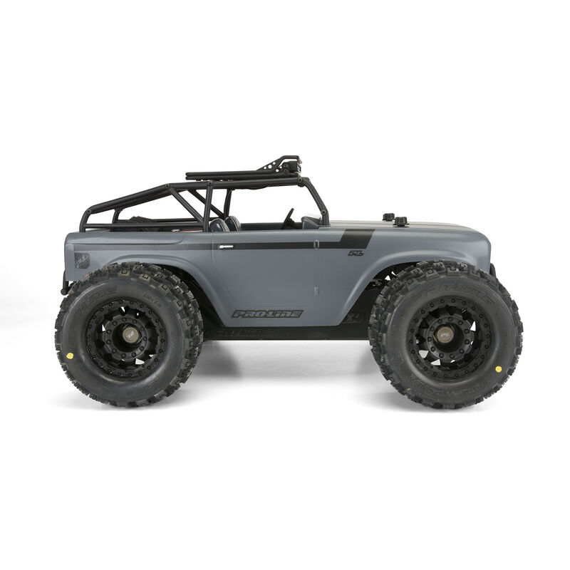 Clear Body, Ambush with Trail Cage: 1/10 PRO-MT, Stampede 4x4