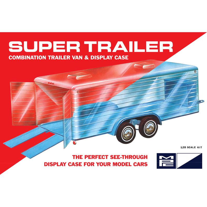 1/25 Super Display Case Trailer