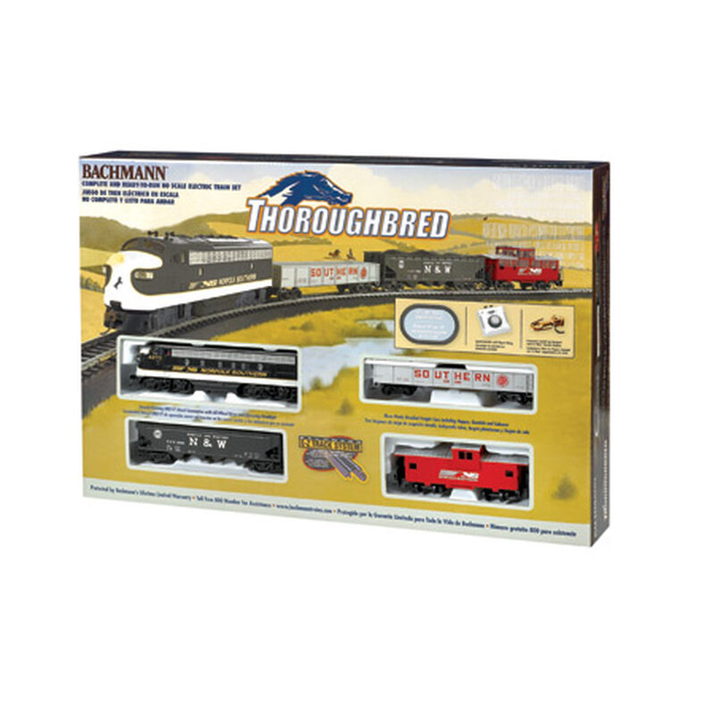 HO Thoroughbred Train Set