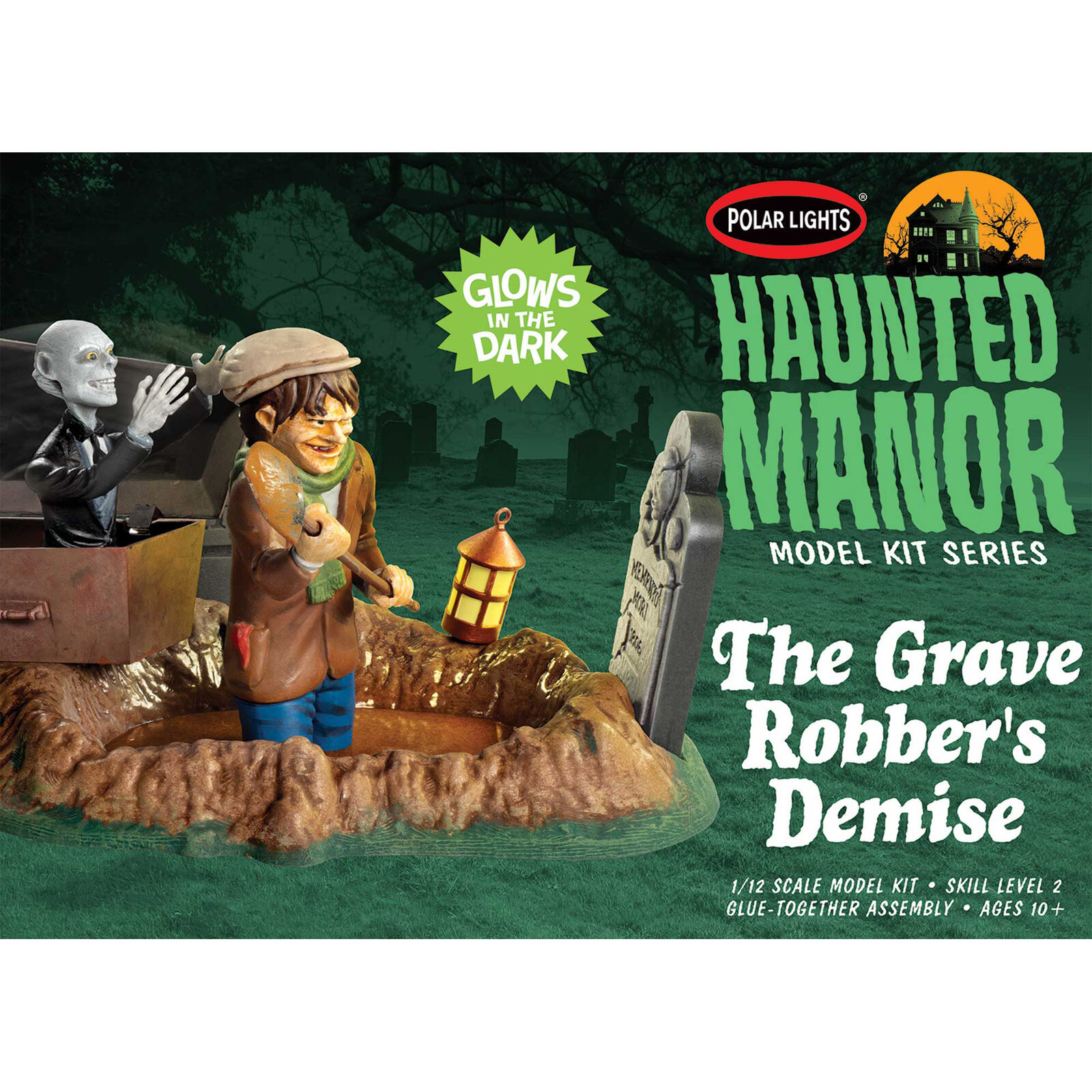 1/12 Haunted Manor The Grave Robber's Demise