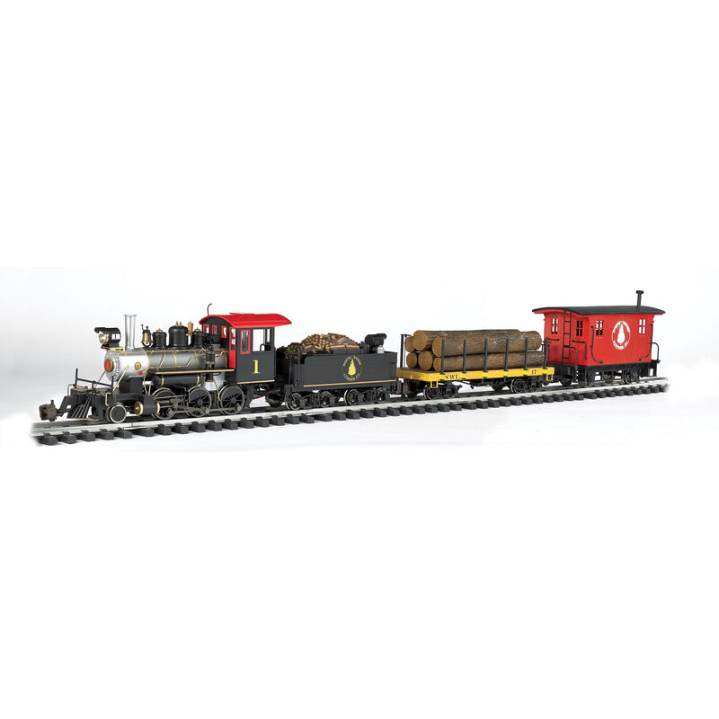 G North Woods Logger Train Set