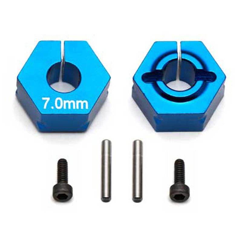 Factory Team Clamping Wheel Hexes 7.0mm