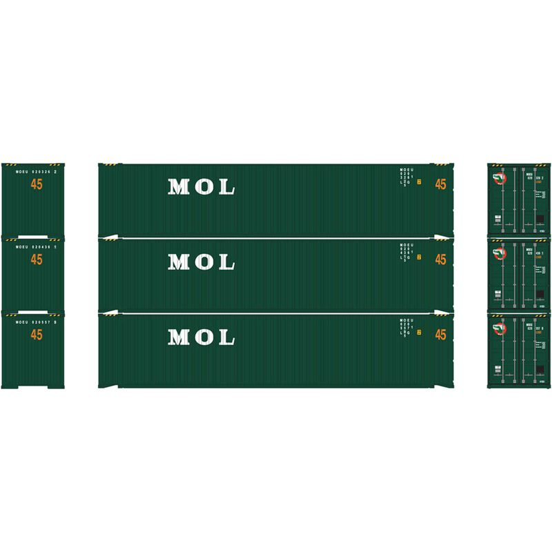 HO RTR 45' Container MOL (3)
