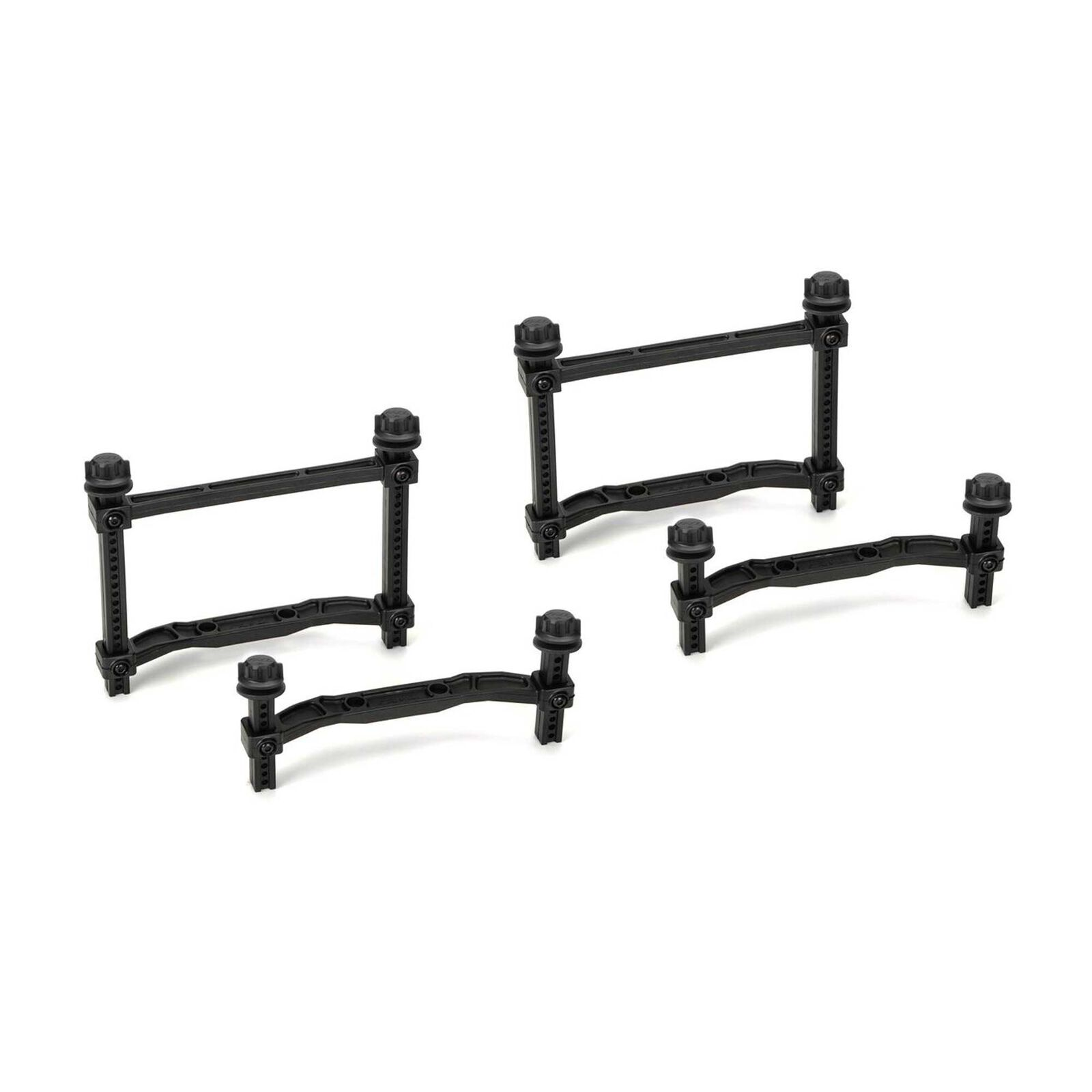Extended Front and Rear Body Mounts: SLH 4x4 (2)