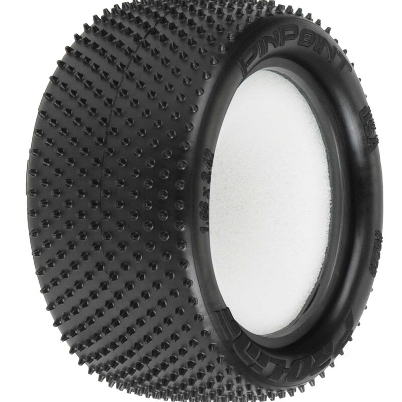 1/10 Rear Pin Point 2.2 Z4 Off-Road Carpet Buggy Tires (2)