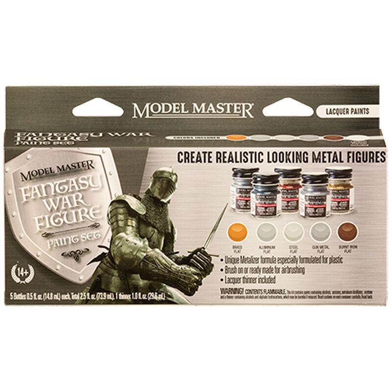 Model Master 6 Color Paint Set, Fantasy War Figure