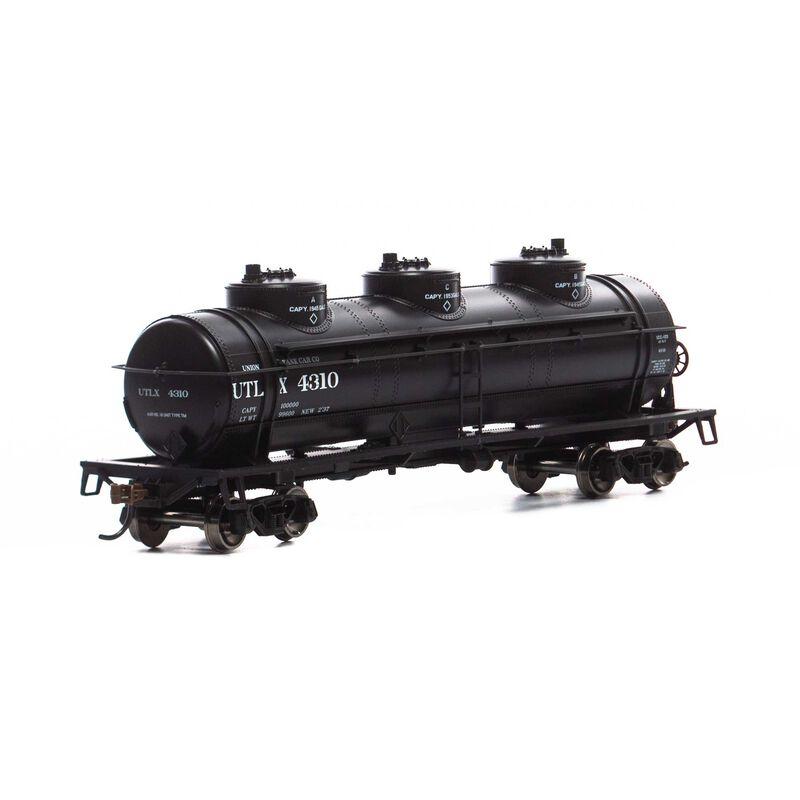 HO 3-Dome Tank, UTLX #4310