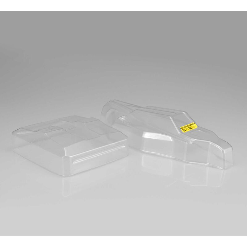 1/10 S2 Clear Body with Aero Wing: B6, B6D