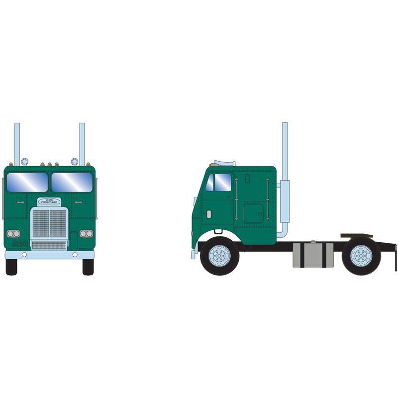 HO RTR FL with 3 Axle Metallic Green