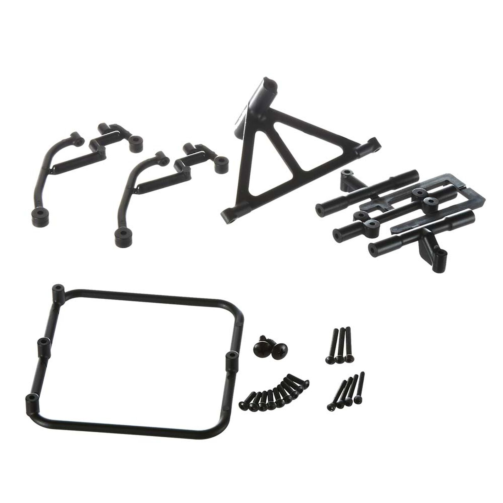 Dual Spare Tire Carrier: Slash 2WD and 4x4
