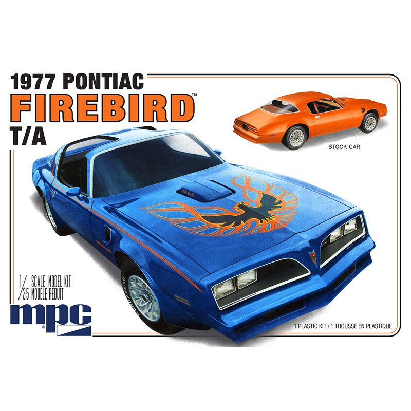1/25 1977 Pontiac Firebird Convertible 2T