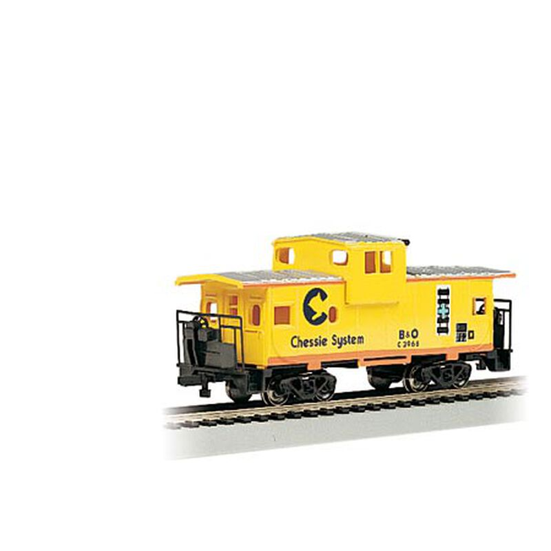 HO 36' Wide Vision Caboose, Chessie