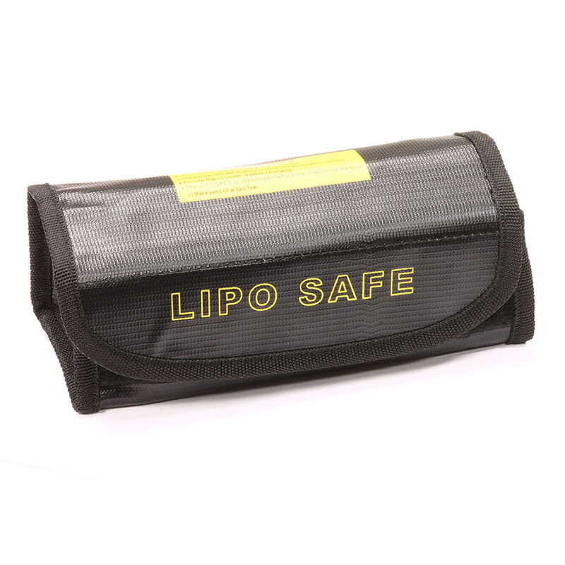 LiPo Guard Case for Charging and Storing, Black