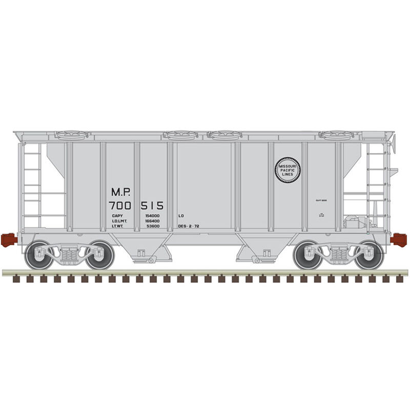 HO Trainman PS-2 Covered Hopper MP #700515
