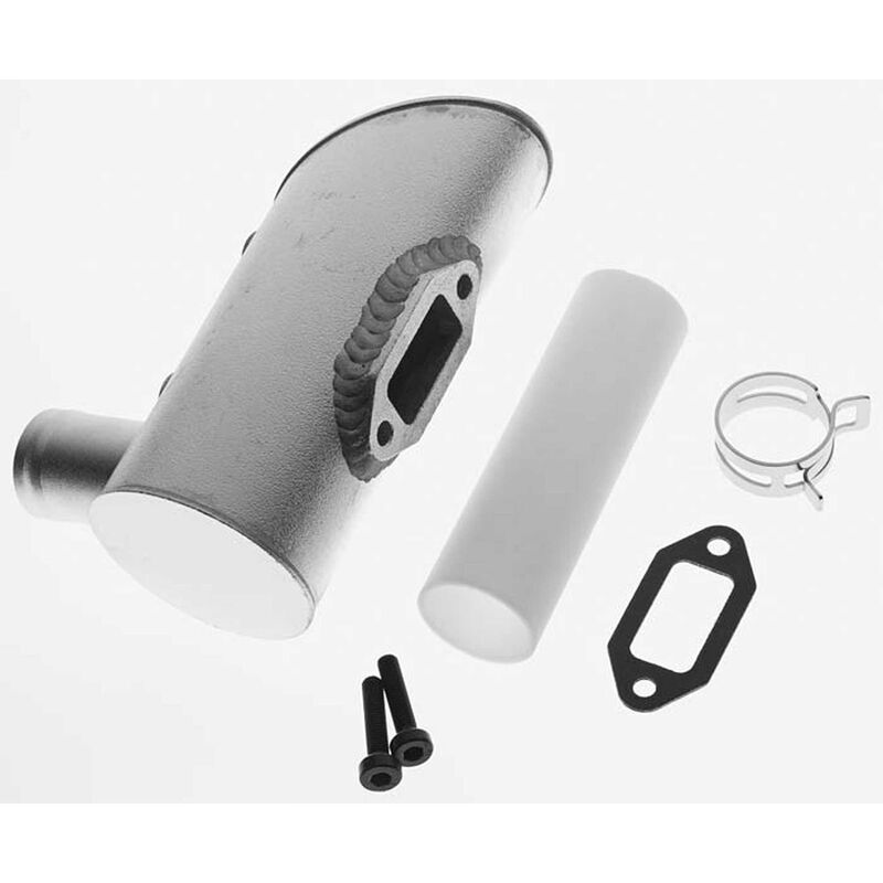 Muffler Right 2-Hole: DLE-120