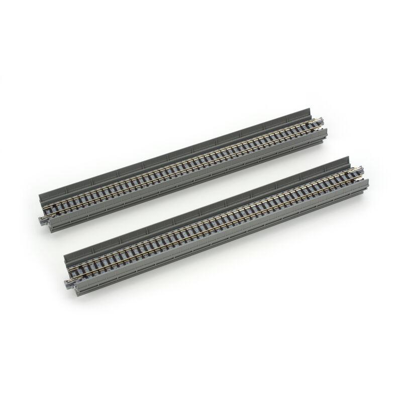 "N 248mm 9-3/4"" Straight Viaduct (2)"