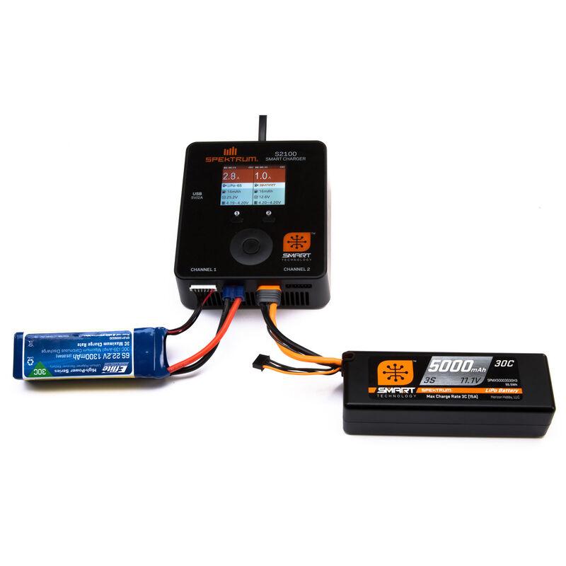 11.1V 3200mAh 3S 30C Smart LiPo Battery: IC3