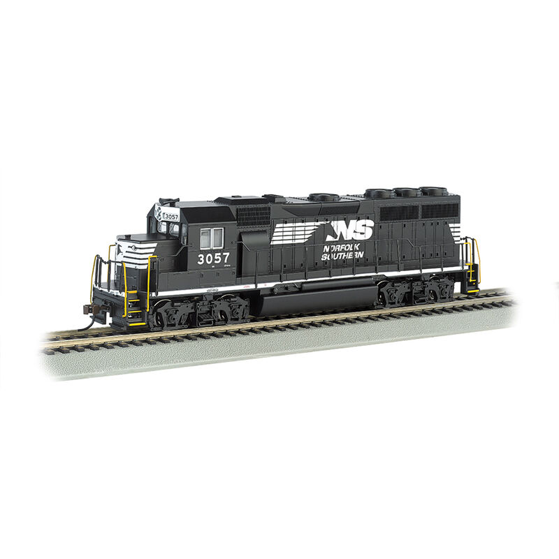 HO GP40 w DCC & Sound Value NS #3057