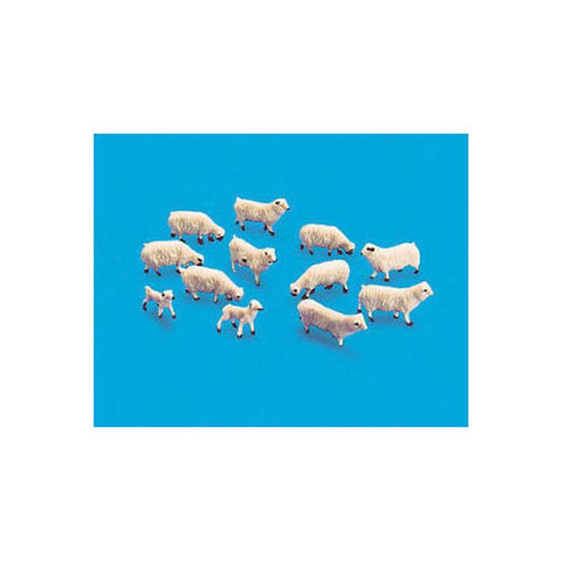 HO Sheep & Lambs (12)