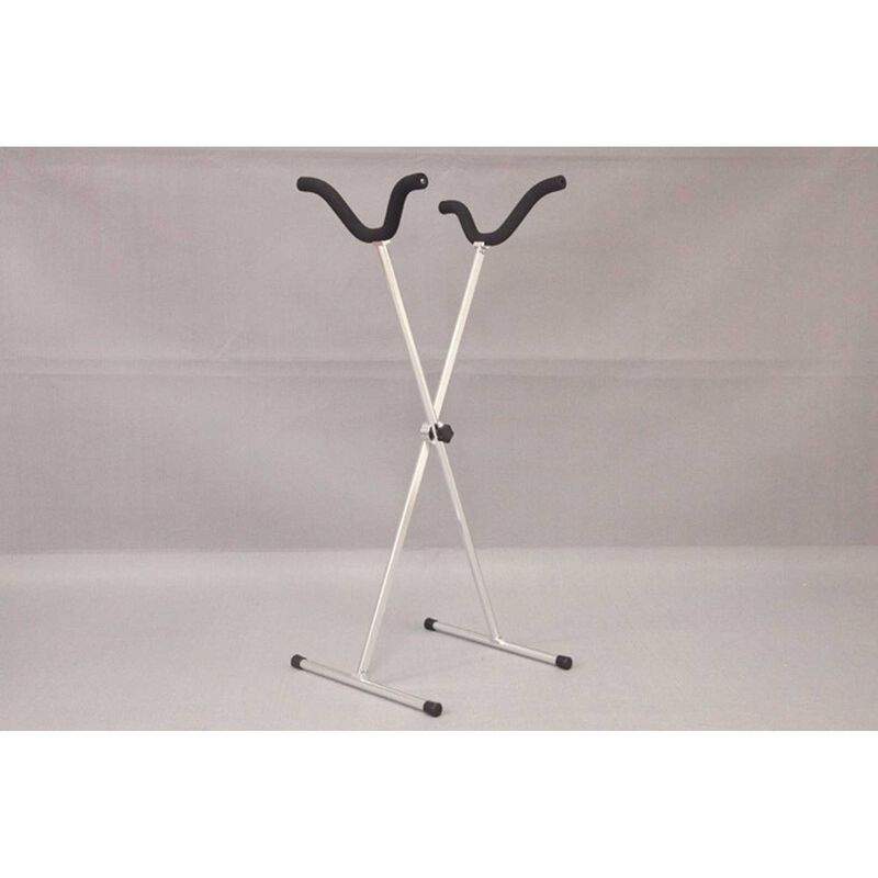 Airplane Display X Stand, Holder V2 - Silver
