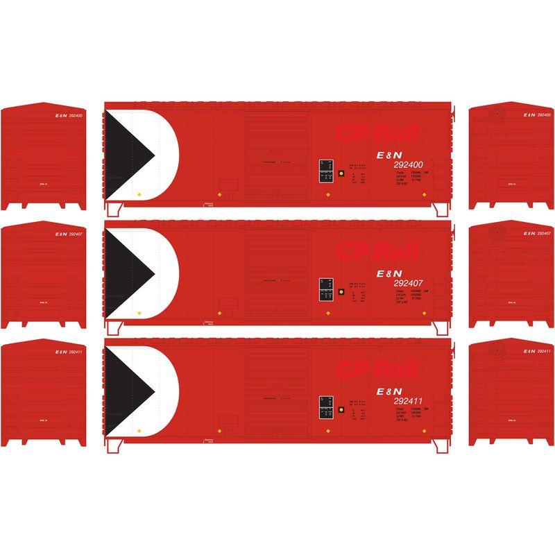 HO RTR 40' Modernized Box E&N ex CP (3)