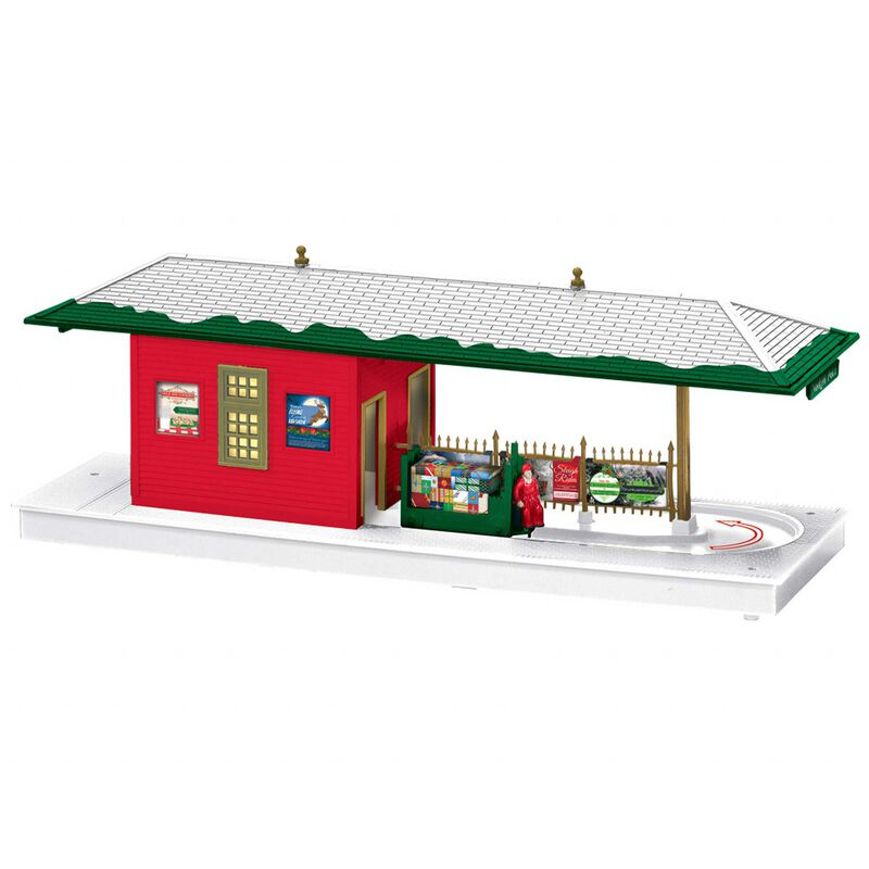 Christmas Operating Freight Station