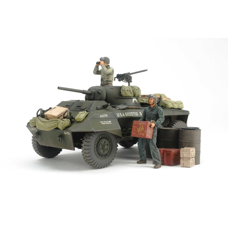 1/35 US M8 Light Armored Greyhound Combat Patrol