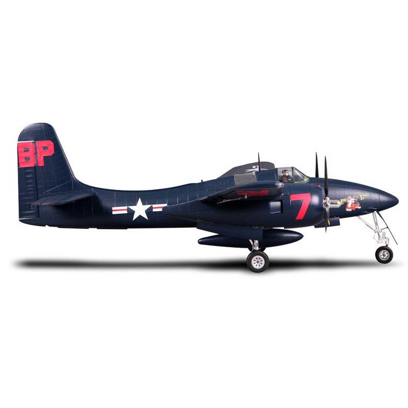 F7F Tigercat Blue PNP, 1700mm