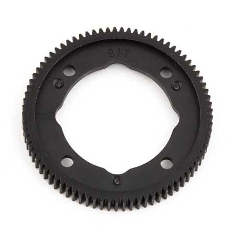 Spur Gear, 81T, 48P: B64, B64D