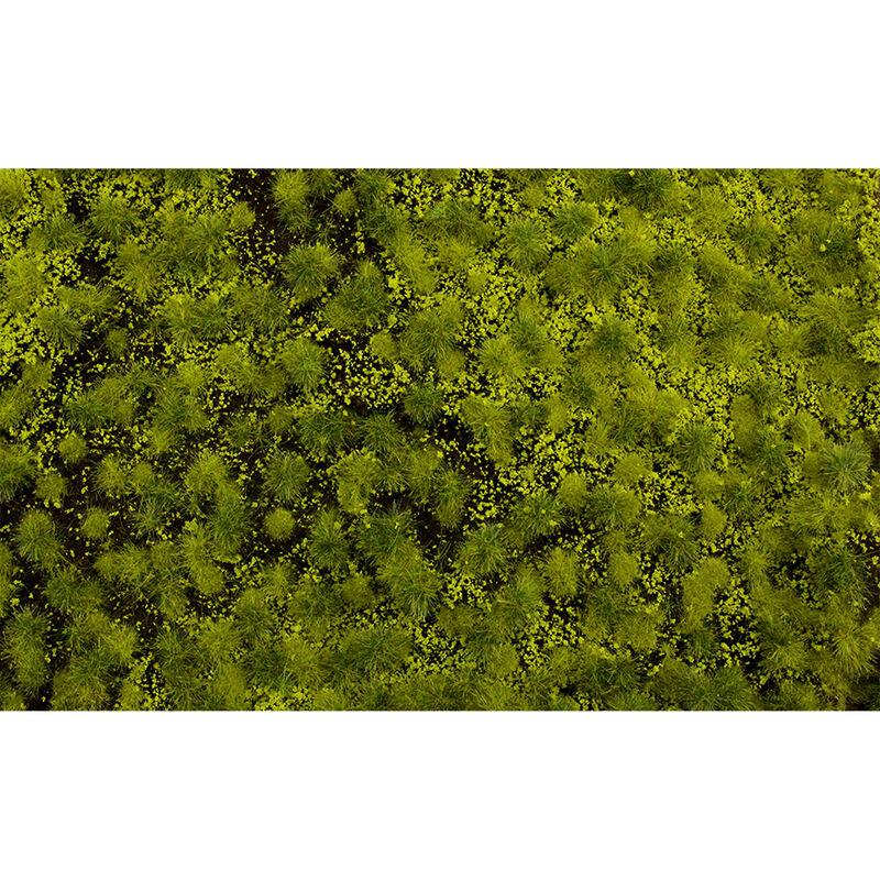 """11.75"""" x 7.5"""" Tufted Grass Mat Light Green"""