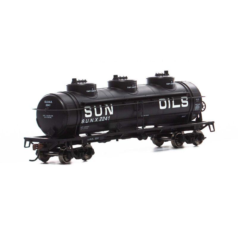 HO 3-Dome Tank, SUNX #2241