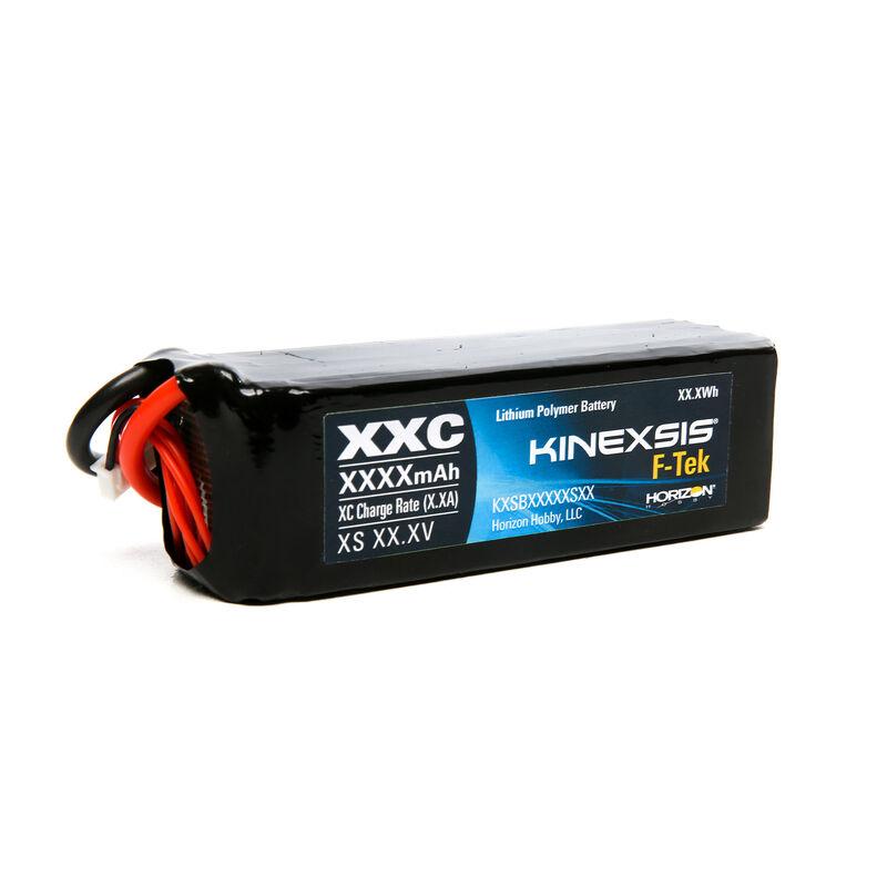 7.4V 450mAh 2S 30C F-Tek LiPo Battery: JST