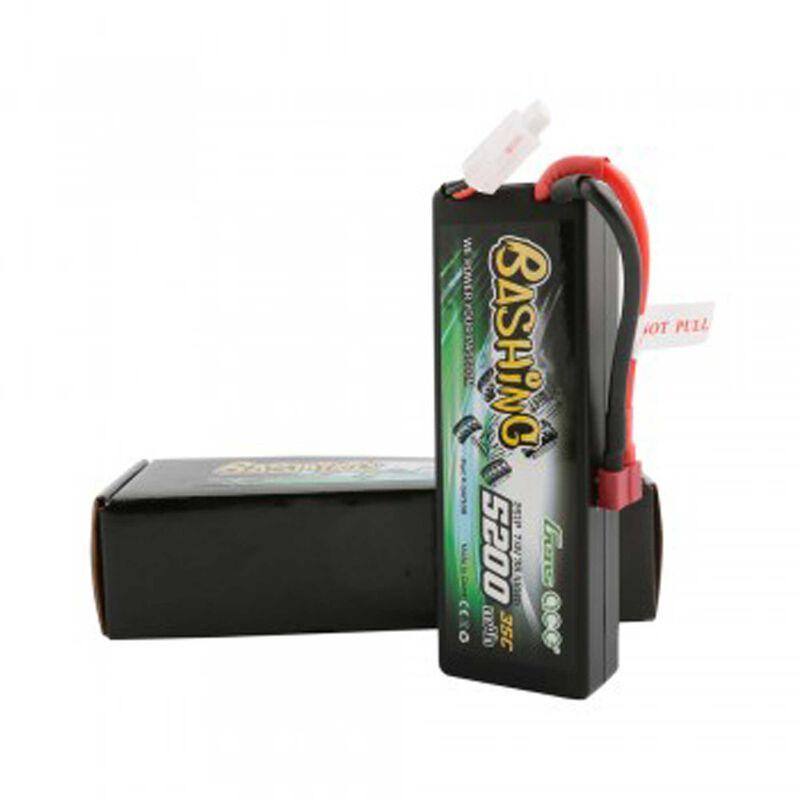 7.4V 5200 Capacity 2S Voltage 35C LiPo, Deans