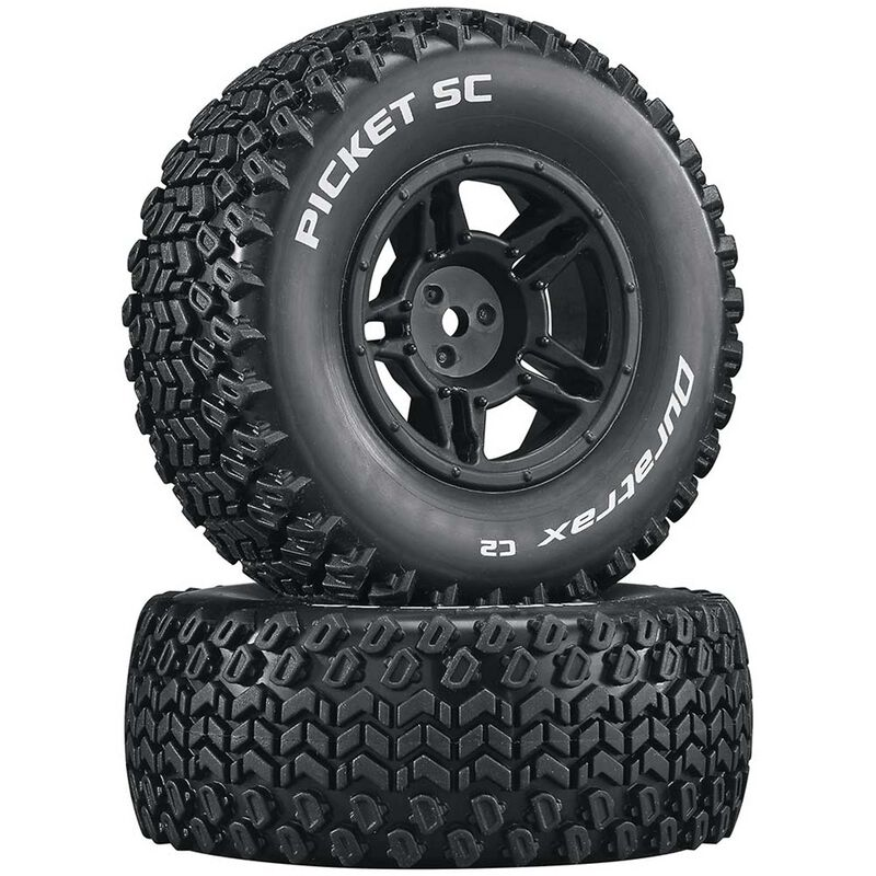 Picket SC C2 Mounted Tires: Slash 4x4 Blitz Front Rear (2)