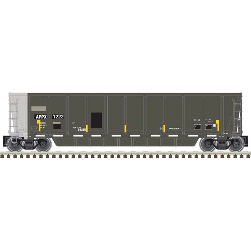 HO Coalveyor Bathtub Appalachian Railcar #1247