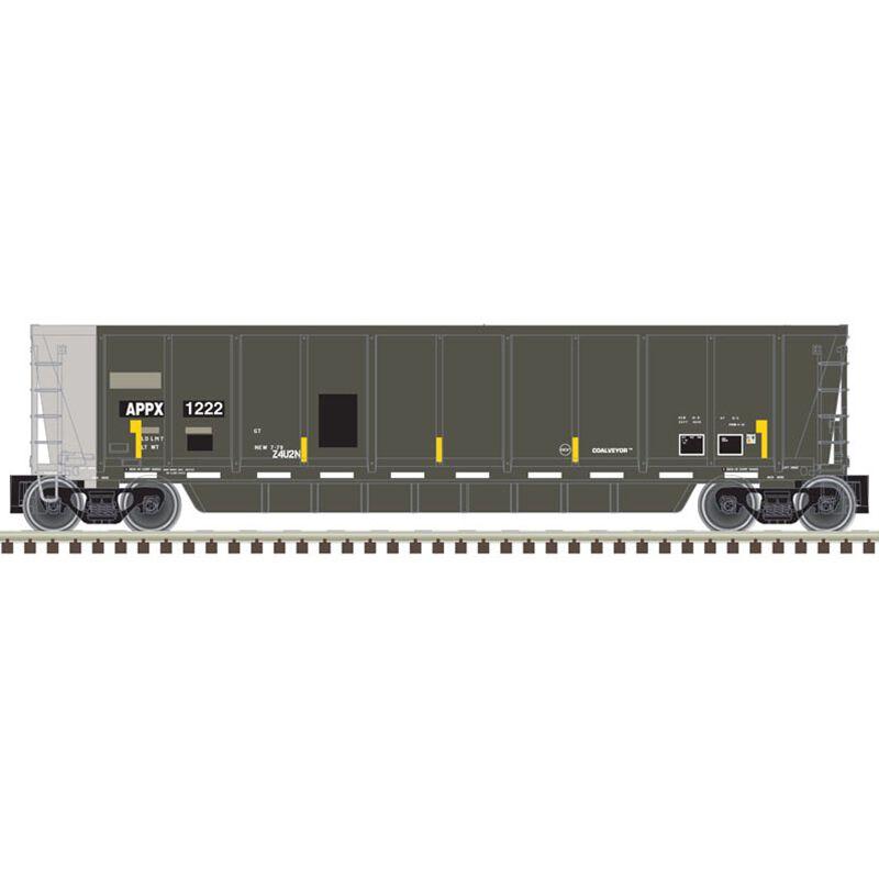 HO Coalveyor Bathtub Appalachian Railcar #1255