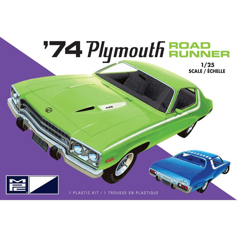 1/25 1974 Plymouth Road Runner 2T