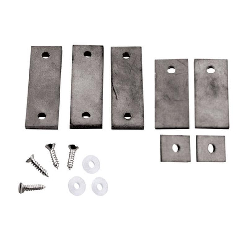 Tungsten Incremental Weights, 2 oz Plate