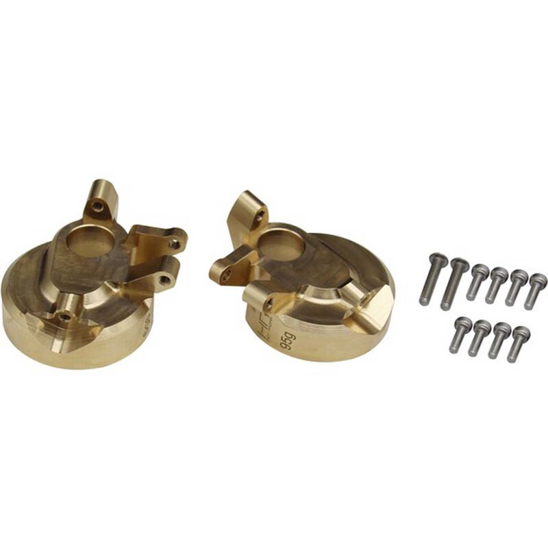 Brass Currie F9 Portal Steering Knuckle: Axial UTB