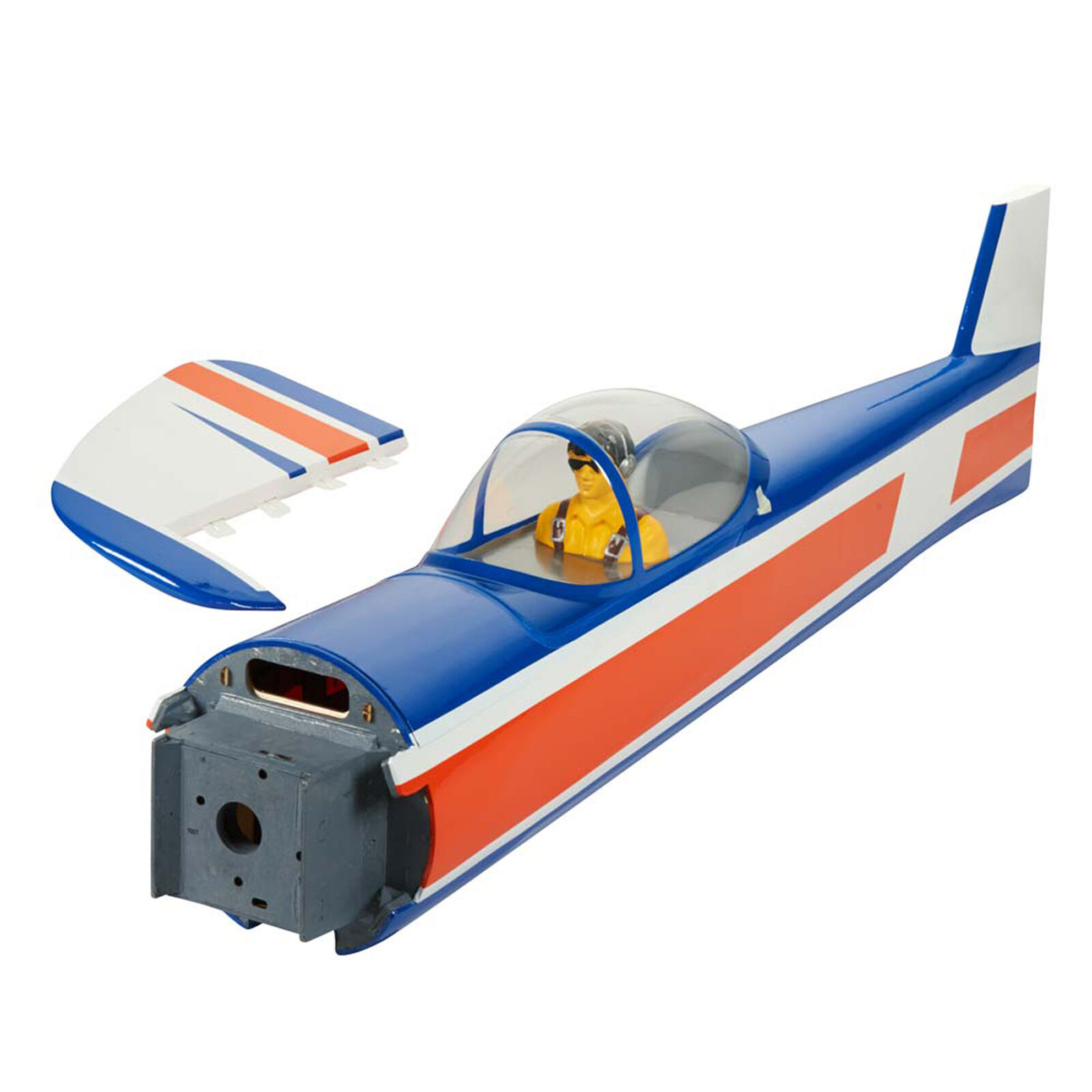 Fuselage w Rudder Yak 55 .46-.55 EP ARF