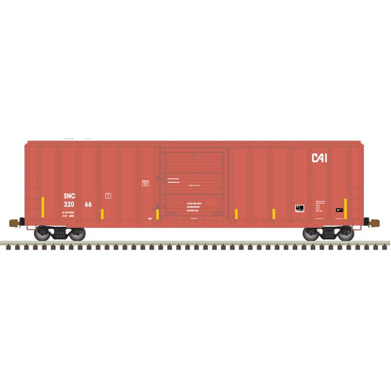 HO FMC 5347 Single Door Box CAI #32067