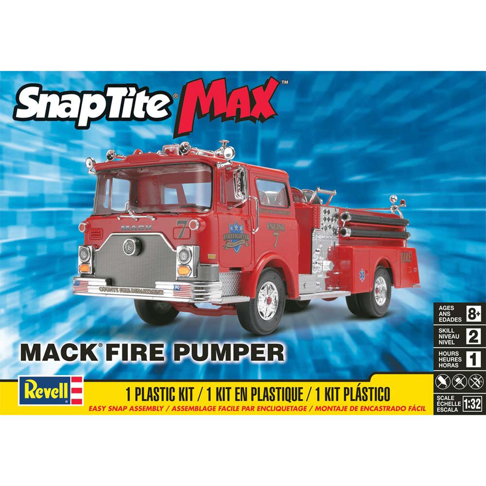 1 32 Mack Fire Pumper