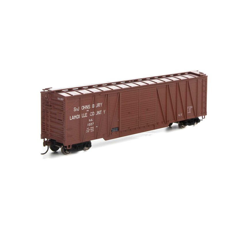 HO RTR 50' Single Sheathed Box SJ&L #2027