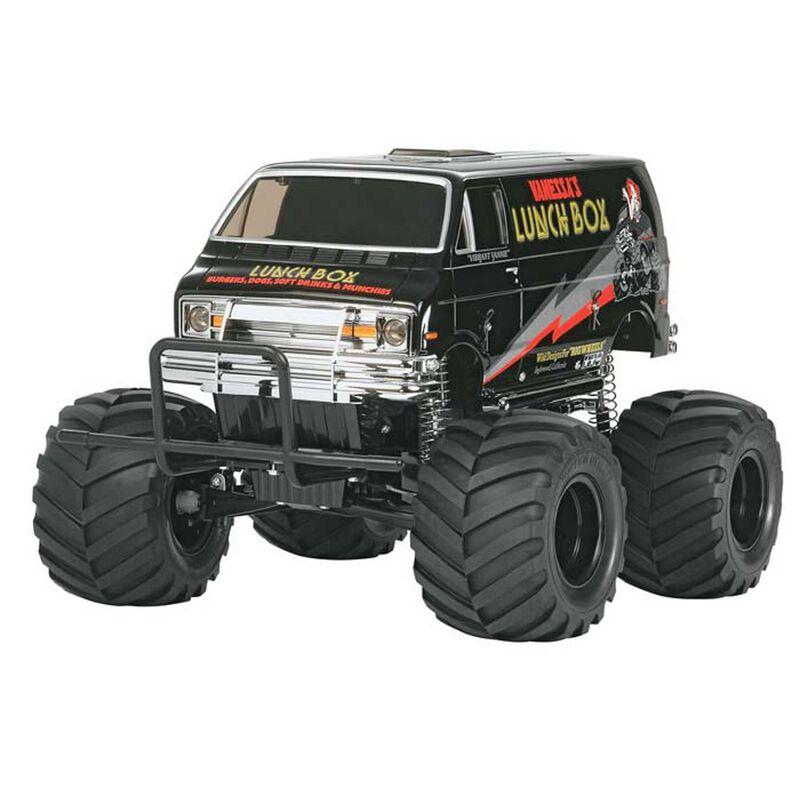 1/12 Lunch Box Monster Truck Kit, Black Edition
